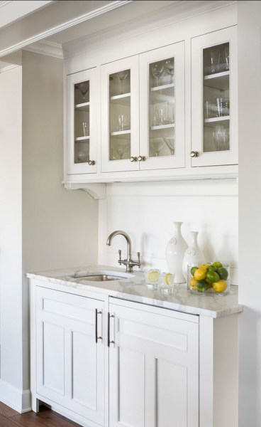 butlers pantry kitchen cabinets White kitchen with Inset Cabinets - Home Bunch Interior