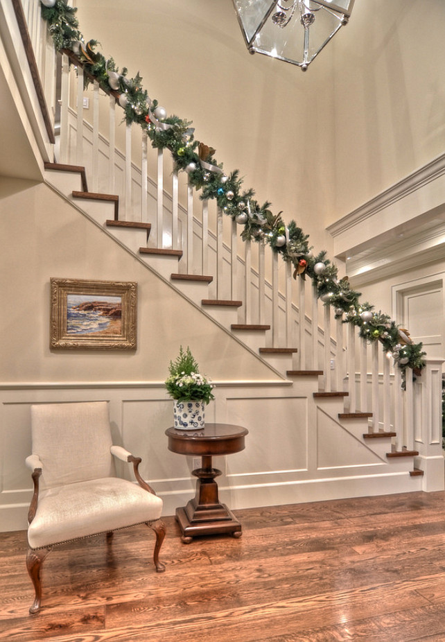 A Family Home Decorated For Christmas Home Bunch