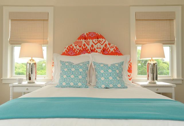 Turquoise And Orange Bedroom Ideas