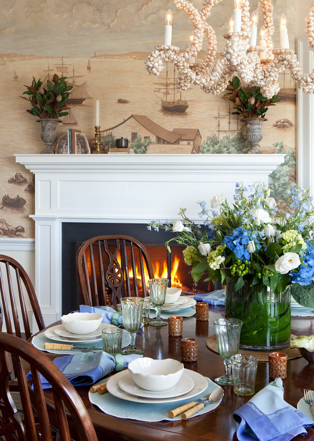 Traditional Nantucket Cottage with Coastal Interiors