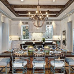 Black Tufted Dining Chair Distressed Kitchen Chairs South Carolina Elevated Beach House - Home Bunch Interior Design Ideas