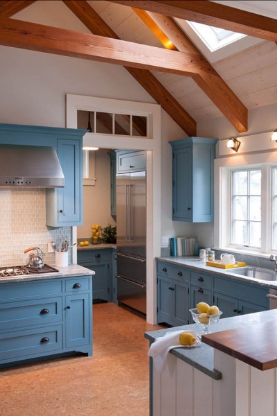 stone blue farrow and ball kitchens Interior Paint Color Ideas - Home Bunch Interior Design Ideas