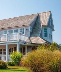 Cape Cod Shingle Beach House with Coastal Interiors - Home ...