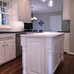 Kitchen Islands At Home Depot Contemporary Designs Before & After Reno With Painted Cabinets - ...