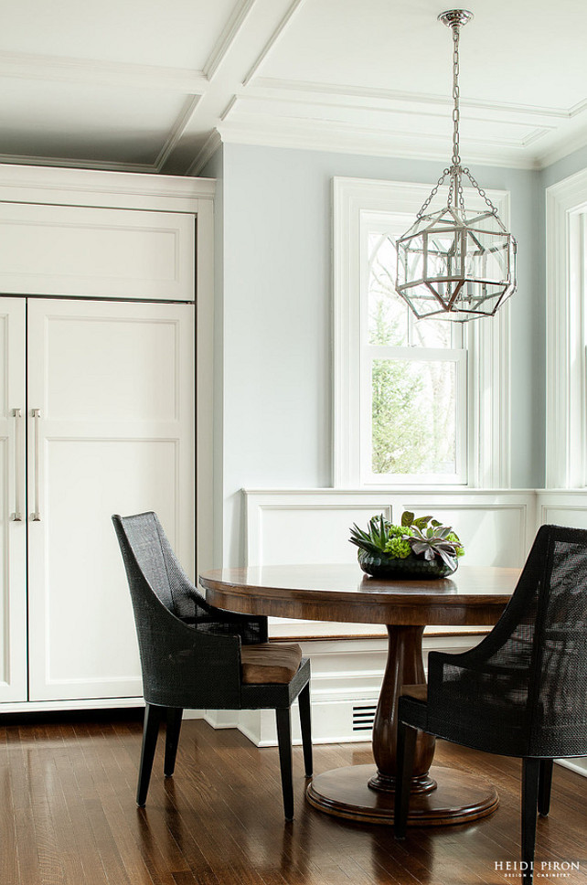 Classic Transitional White Kitchen  Home Bunch Interior