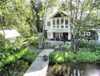Coastal Muskoka Living Interior Design Ideas - Home Bunch ...