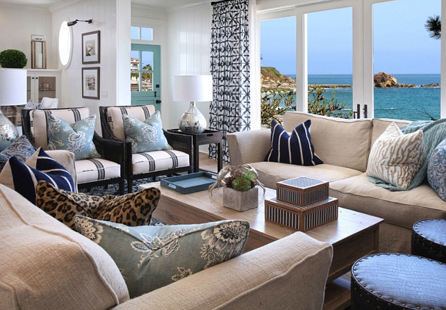 Beach House With Inspiring Coastal Interiors Home Bunch