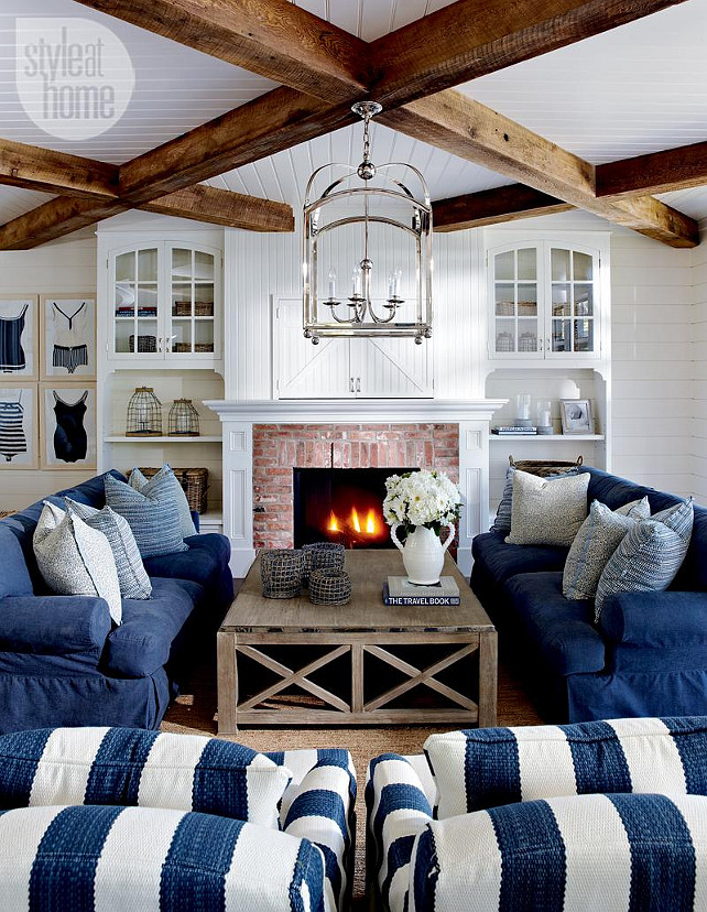 Lake Muskoka Cottage With Coastal Interiors Home Bunch