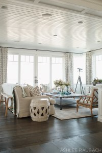 Beach House with Neutral Color Palette - Home Bunch ...