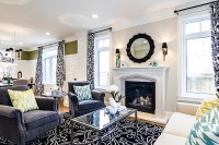 Family Home with Stylish Transitional Interiors - Home ...