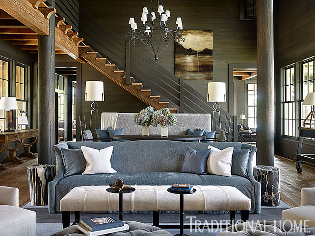 lake house with rustic interiors home bunch interior design ideas - Rustic Interiors Photos