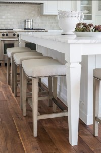 White kitchen with Inset Cabinets - Home Bunch Interior ...