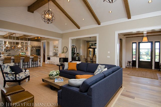 Stylish Family Home with Transitional Interiors  Home
