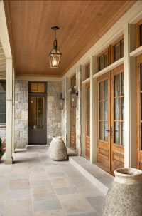 Lake House with Transitional Interiors - Home Bunch ...