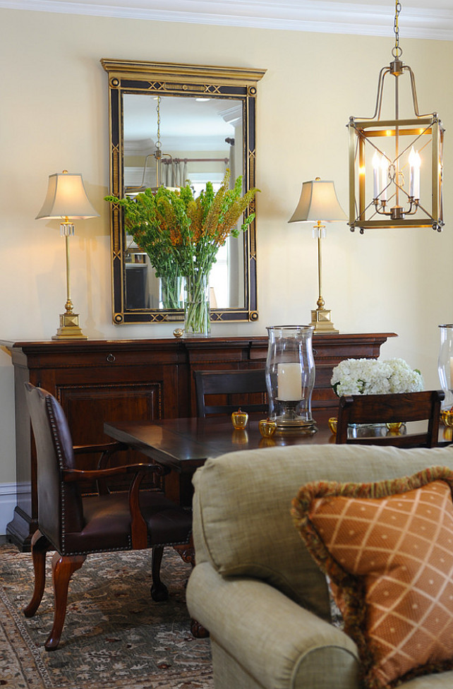 Yellow Walls Living Room Interior Decor