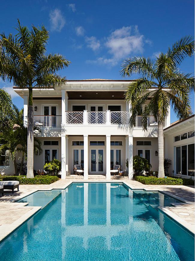 Florida Beach House with Classic Coastal Interiors