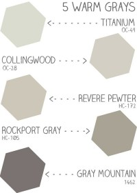 Warm gray benjamin moore paint colors