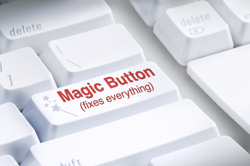 The Real Magic Button to Online Success