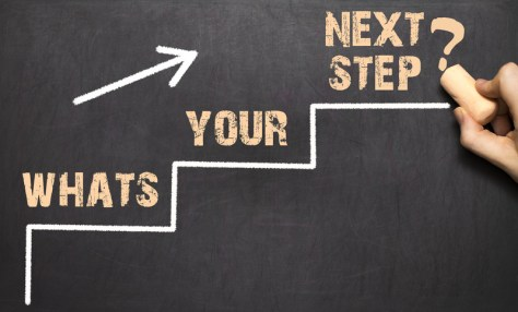 What Your Next Step Should Be