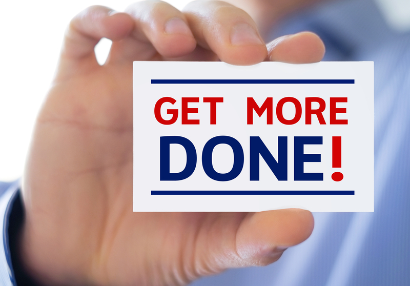 How You Can Get More Done and Make More Money Using Less Time and Effort...