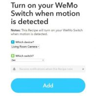 IFYYY Wemo and Nest Cam Integration