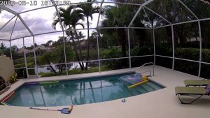 Pool Security Camera