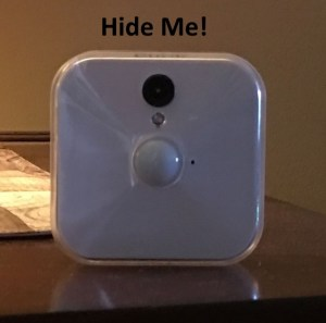 How to Hide a Blink Home Security Camera System