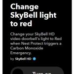 How to Automate Using IFTTT for SkyBell Video Doorbell