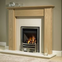 Brison Brompton Mantel Surround 50 inch Fireplace Showroom ...