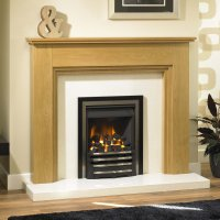 Brison Croxdale Mantel Surround 52 inch Fireplace Showroom ...