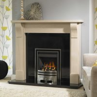 Brison Shipley Mantel Surround 54 inch Fireplace Showroom ...