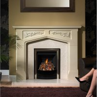 Brison Thornley Mantel Surround 54 inch Fireplace Showroom ...
