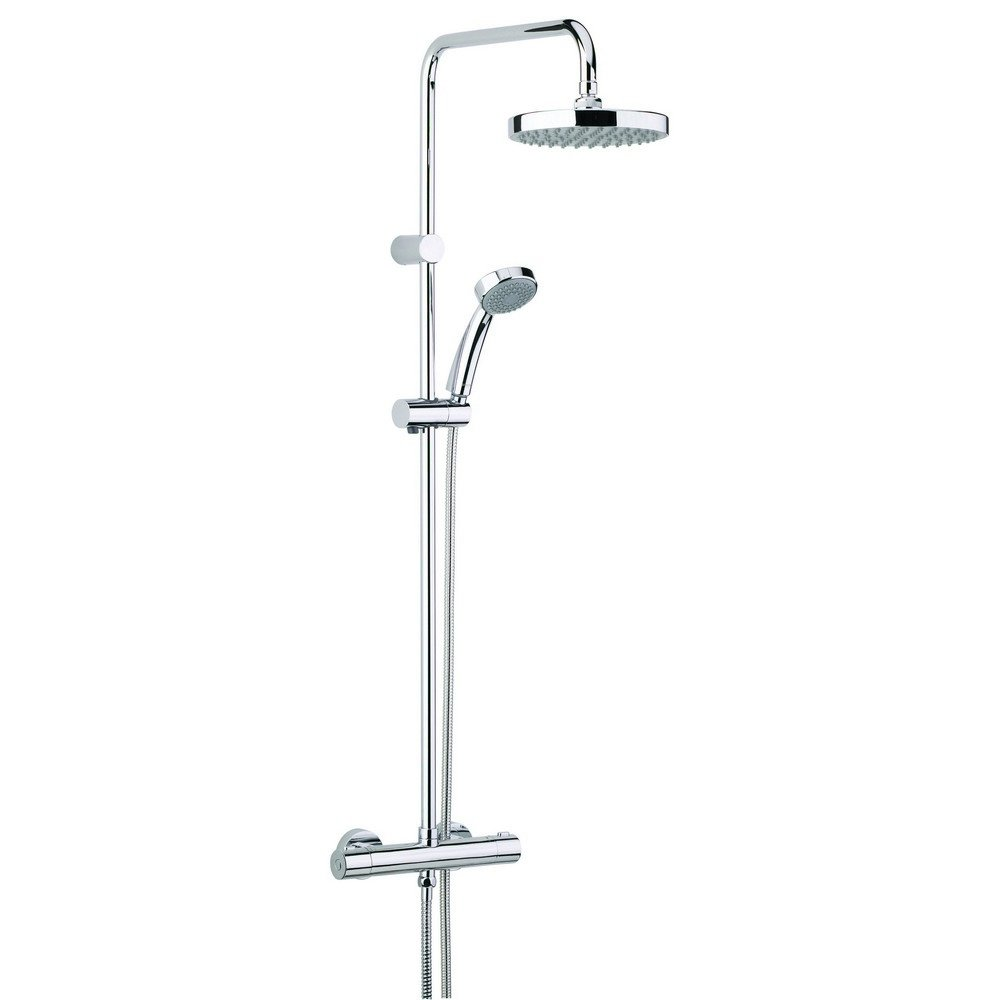 Bristan Taps & Showers Carre Thermostatic Shower Valve