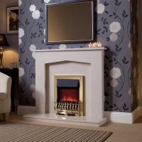 Essential Fireplaces Kilburn 45 Inch Micro Marble Surround ...