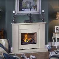 Mustique Marble Fireplace Opti-Myst Electric Fire ...