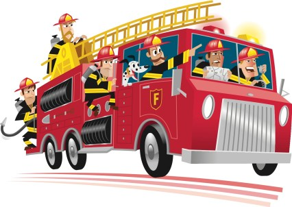Firetruck-cartoon