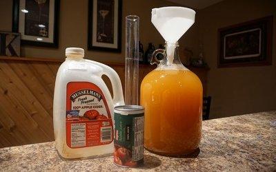 Ginger Apple Hard Cider Recipe