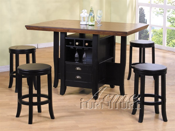 kitchen island set kitchens on finance bad credit 5 piece heritage hill counter height in multi tone larger photo