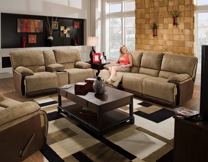 catnapper sofas and loveseats belgian linen slipcovered sofa clayton 2 piece power reclining loveseat set in two toned larger photo