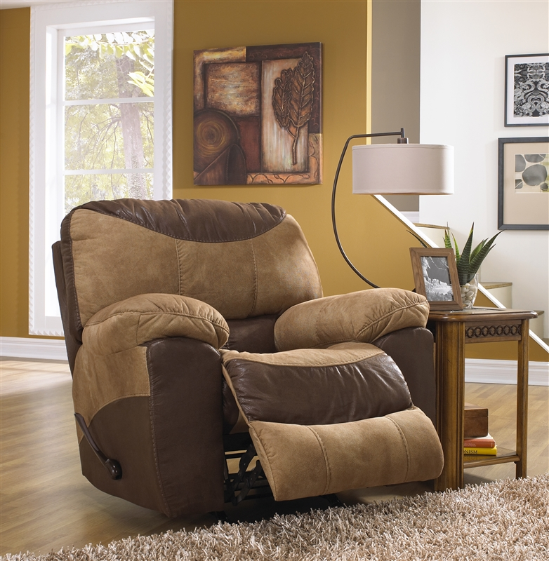 catnapper sofas and loveseats james sofa amart portman 2 piece reclining loveseat set in two tone chocolate saddle fabric by 196