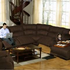 6 Piece Modular Sectional Sofa Old Set In Noida Compass Espresso Fabric Power Reclining ...