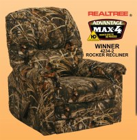 Winner MAX 4 - Realtree Camouflage Rocker Recliner by ...