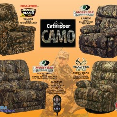 Camouflage Living Room Furniture Pit Group Winner Max 4 Realtree Rocker Recliner By Catnapper 4234 2 Camo