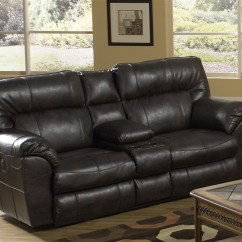 Catnapper Sofa And Loveseat Usado Mercado Livre Nolan Leather Power Reclining Console By ...