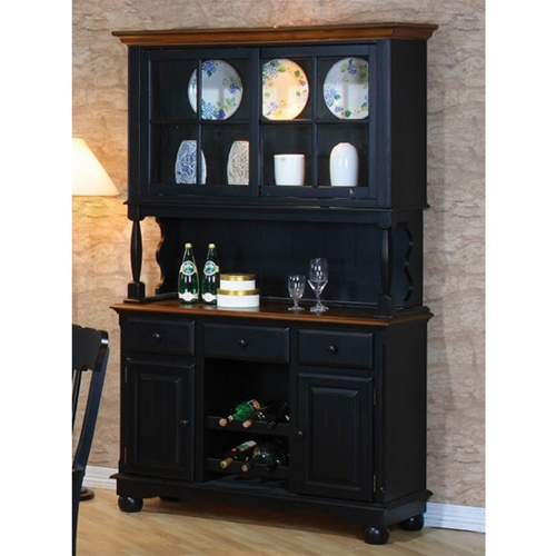 Classic Country Look Buffet  Hutch by Coaster  100594