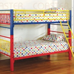 Desk Chair Kids Covers In Birmingham Twin/twin Multicolor Metal Bunk Bed By Coaster - 2048