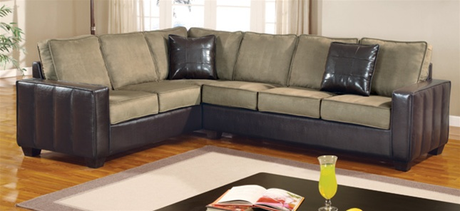 angled sectionals sofas clic clac double sofa beds loren right angle sectional by coaster 500881r larger photo