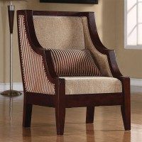 Striped Accent Chair by Coaster - 900322
