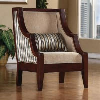 Striped Accent Chair by Coaster - 900323