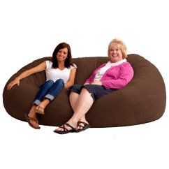 Xxl Fuf Chair Swivel Egg 7 Bean Bag In Comfort Suede Fabric By Larger Photo